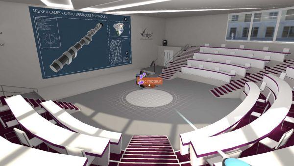 virdys collaborate auditorium