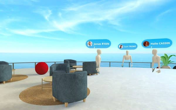 Virdys Collaborate - Meeting réalité virtuelle plateforme collaboration immersive VR travail collaboratif