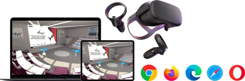 Virdys Collaborate multiplatform immersive and collaborative virtual showroom